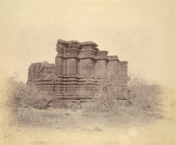 Ruins of an old temple at Durana